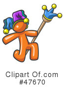 Jester Clipart #47670 by Leo Blanchette