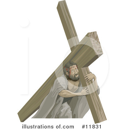 Jesus Clipart #11831 by AtStockIllustration