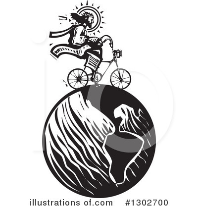 Bicycle Clipart #1302700 by xunantunich