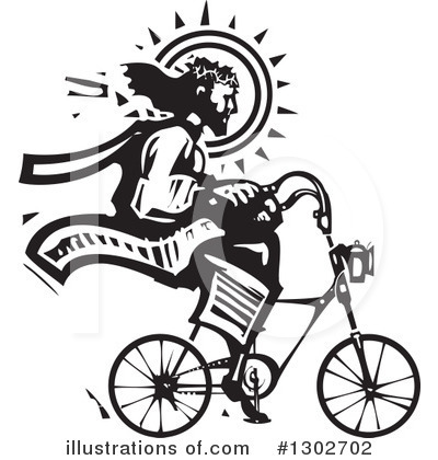 Bicycle Clipart #1302702 by xunantunich