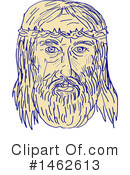 Royalty-Free (RF) Jesus Clipart Illustration #1462613