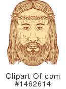 Royalty-Free (RF) Jesus Clipart Illustration #1462614