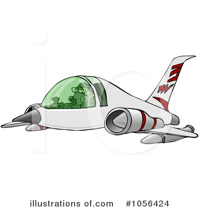 Airplane Clipart #1056424 by djart