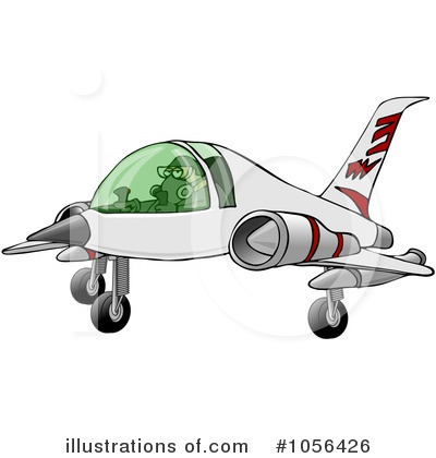 Airplane Clipart #1056426 by djart