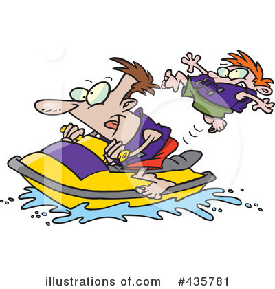 Jetski Clipart #435781 by toonaday