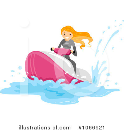 Jetski Clipart #1066921 by BNP Design Studio