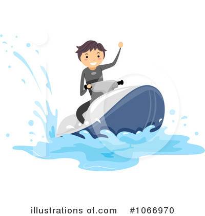 Jetski Clipart #1066970 by BNP Design Studio