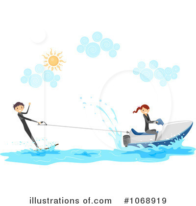 Royalty free rf jetski clipart illustration 1068919 by bnp design