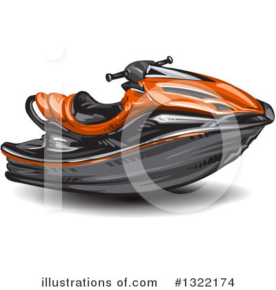 Jetski Clipart #1322174 by merlinul
