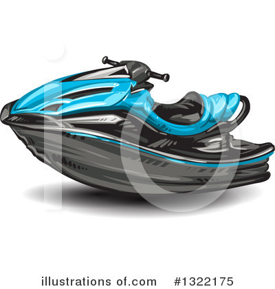 Jetski Clipart #1322175 by merlinul