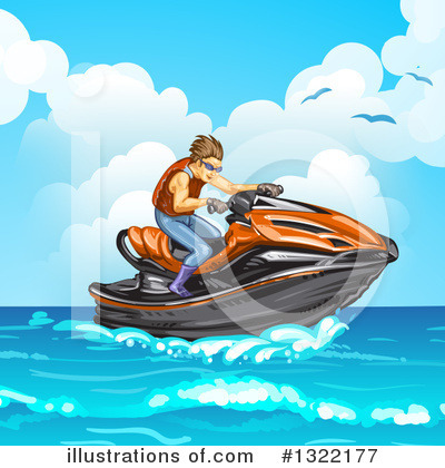 Jetski Clipart #1322177 by merlinul