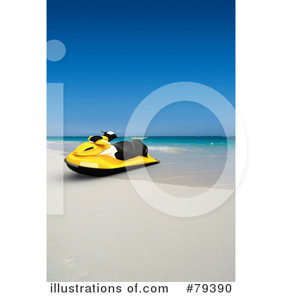 Jetski Clipart #79390 by Frank Boston