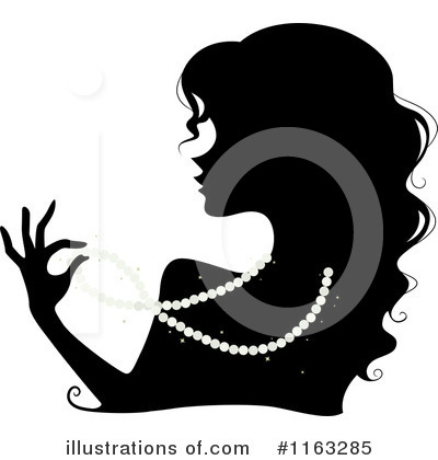 Silhouetted Woman Clipart #1163285 by BNP Design Studio
