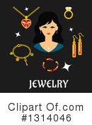 Jewelery Clipart #1314046 by Vector Tradition SM