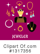 Jewelery Clipart #1317356 by Vector Tradition SM