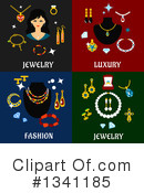 Jewelery Clipart #1341185 by Vector Tradition SM
