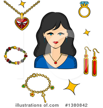 Diamond Clipart #1380842 by Vector Tradition SM