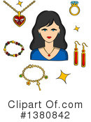 Jewelry Clipart #1380842 by Vector Tradition SM