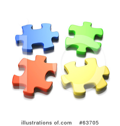Jigsaw Puzzle Clipart #63705 by Tonis Pan