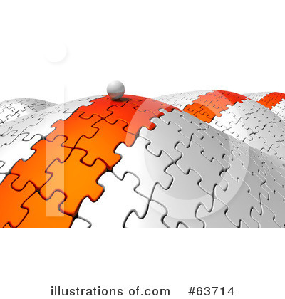 Royalty-Free (RF) Jigsaw Puzzle Clipart Illustration by Tonis Pan - Stock Sample #63714