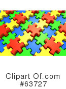 Royalty-Free (RF) jigsaw puzzle Clipart Illustration #63727