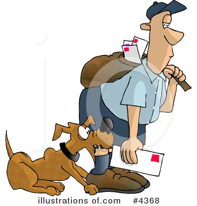 Post Office Clipart #4368 by djart