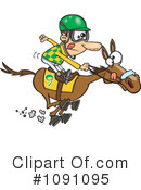 Royalty-Free (RF) Jockey Clipart Illustration #1091095