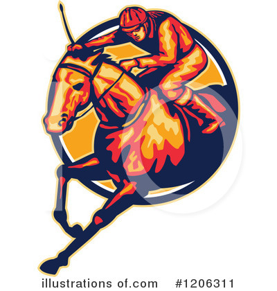 Jockey Clipart #1206311 by patrimonio