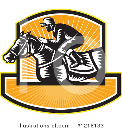 Jockey Clipart #1218133 by patrimonio