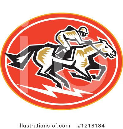 Jockey Clipart #1218134 by patrimonio