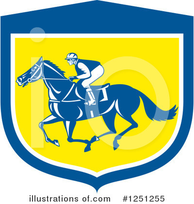 Jockey Clipart #1251255 by patrimonio
