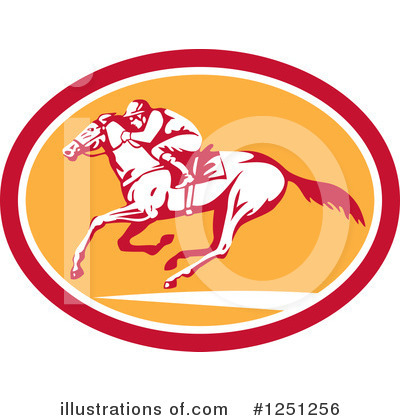 Jockey Clipart #1251256 by patrimonio