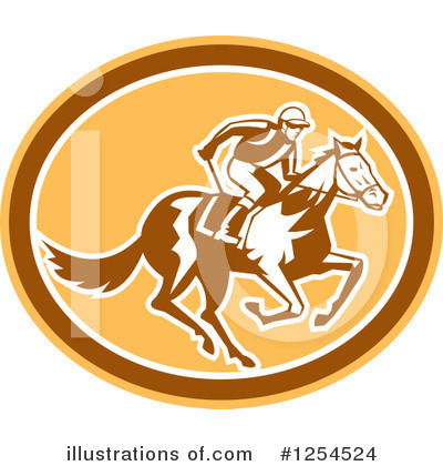 Jockey Clipart #1254524 by patrimonio
