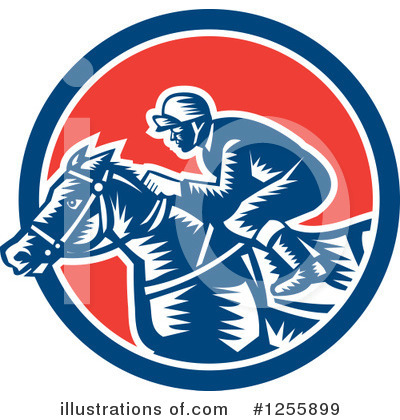 Jockey Clipart #1255899 by patrimonio