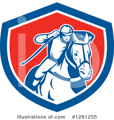 Jockey Clipart #1261255 by patrimonio