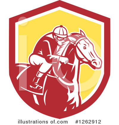 Jockey Clipart #1262912 by patrimonio