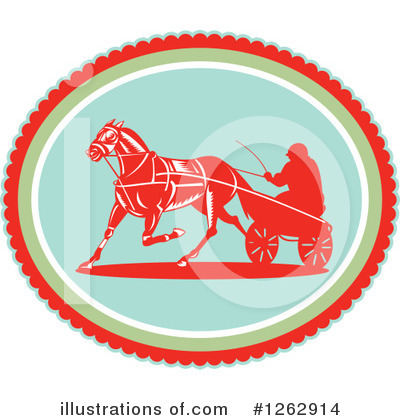 Royalty-Free (RF) Jockey Clipart Illustration by patrimonio - Stock Sample #1262914