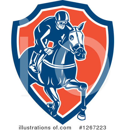 Jockey Clipart #1267223 by patrimonio