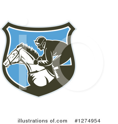 Jockey Clipart #1274954 by patrimonio