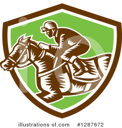 Jockey Clipart #1287672 by patrimonio