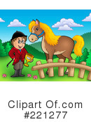 Royalty-Free (RF) Jockey Clipart Illustration #221277