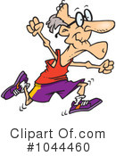 Royalty-Free (RF) Jogging Clipart Illustration #1044460