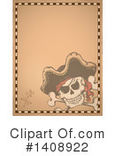 Jolly Roger Clipart #1408922 by visekart