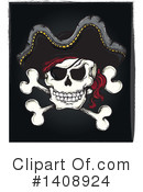 Jolly Roger Clipart #1408924 by visekart