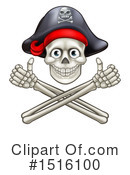 Jolly Roger Clipart #1516100 by AtStockIllustration