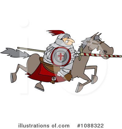 Jousting Clipart #1088322 by djart