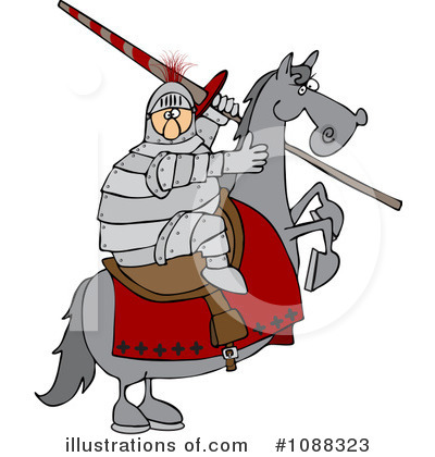 Jousting Clipart #1088323 by djart