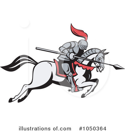 Knight Clipart #1050364 by patrimonio