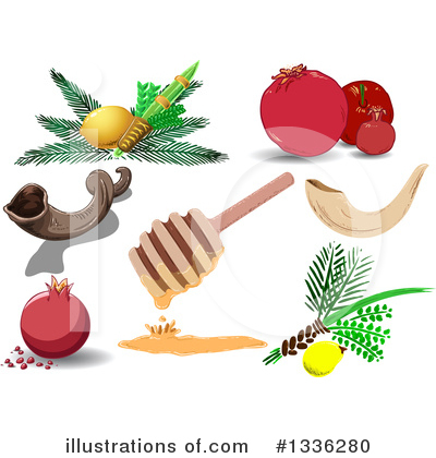 Judaism Clipart #1336280 by Liron Peer