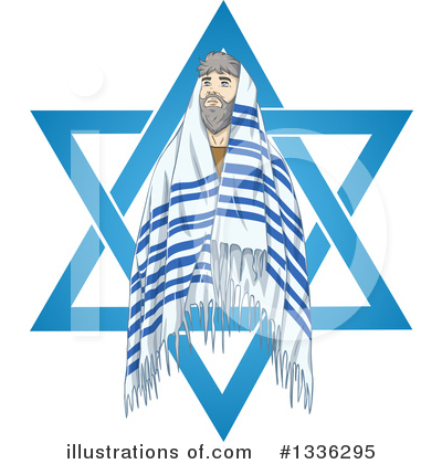 Judaism Clipart #1336295 by Liron Peer